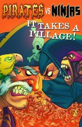 Antarctic Press's Pirates vs Ninjas: It Takes a Pillage TPB # 1
