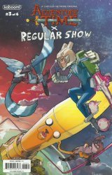 KaBOOM!'s Adventure Time / Regular Show Issue # 3b