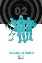 Image's The Manhattan Projects Hard Cover # 2