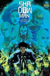 Valiant Entertainment's Shadowman Issue # 1brave n world