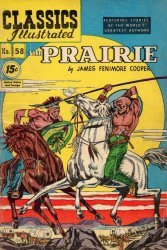 Gilberton Publications's Classics Illustrated #58: The Prairie Issue # 6
