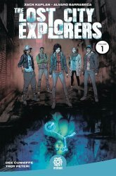 After-Shock Comics's Lost City Explorers TPB # 1