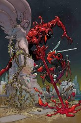 Marvel Comics's Absolute Carnage vs Deadpool Issue # 1e