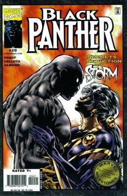 Marvel Milestones Black Panther Storm Ka Zar 1 Marvel Comics