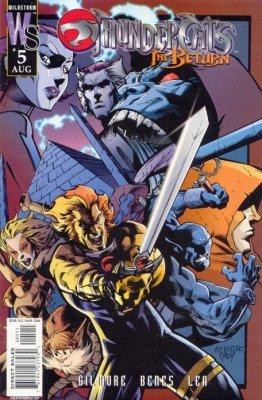 Thundercats Wildstorm on Thundercats  The Return 3  Wildstorm    Comicbookrealm Com