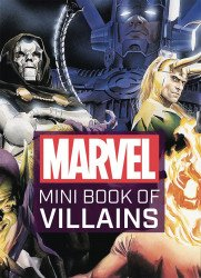 Insight Editions 's Marvel Mini Book of Villains Hard Cover # 1