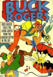 Famous Funnies's Buck Rogers Issue # 3