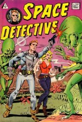 I. W. Enterprises's Space Detective Issue # 1