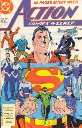 DC Comics's Action Comics Issue # 601