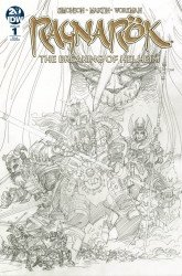 IDW Publishing's Ragnarok: Breaking Of Helheim Issue # 1ri