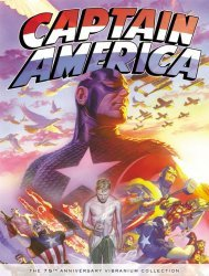 Marvel's Captain America 75th Anniversary: Vibranium Collection Hard Cover # 1