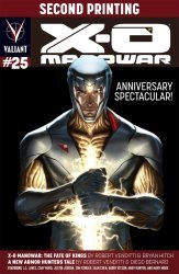 Valiant Entertainment's X-O Manowar Issue # 25f