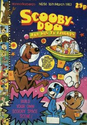 Marvel UK's Scooby-Doo & His TV Friends Issue # 56