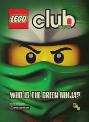 LEGO Systems's LEGO Club Magazine Issue jan/feb 2012