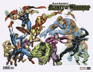 Marvel Comics's Black Panther and the Agents of Wakanda Issue # 1d