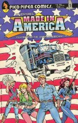 Pied Piper Comics's Adventures Made in America Issue # 1