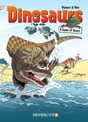 Papercutz's Dinosaurs Hard Cover # 4
