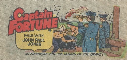 Vital Publications's Captain Fortune Sails with John Paul Jones Issue nn