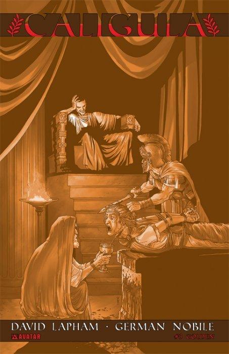 Caligula 1 (Avatar Press) - ComicBookRealm.com