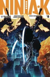 Valiant Entertainment's Ninja-K Issue # 5d