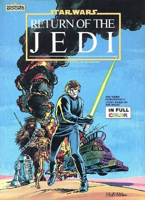 Illustrated Book Cover Number : Marvel illustrated books star wars soft cover