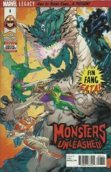 Marvel Comics's Monsters Unleashed Issue # 8