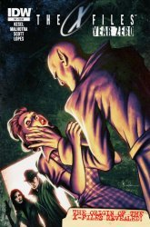 IDW Publishing's The X-Files: Year Zero Issue # 4