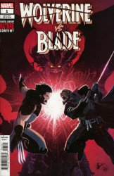 Marvel Comics's Wolverine vs Blade Special Issue # 1b