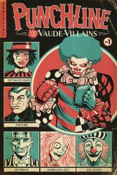 Hero Tomorrow Comics's Punchline And The Vaude-Villains Issue # 1b
