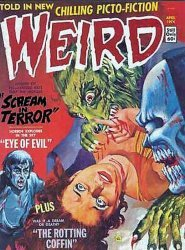 Eerie Publications's Weird Magazine Issue # 2