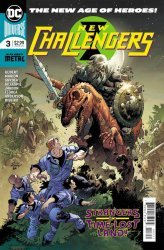 DC Comics's New Challengers Issue # 3