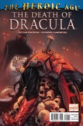 Marvel Comics's The Death of Dracula Issue # 1