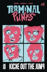 Mad Cave Studios's Terminal Punks Issue # 3