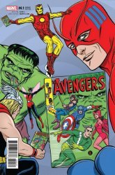 Marvel Comics's The Avengers Issue # 4.1c
