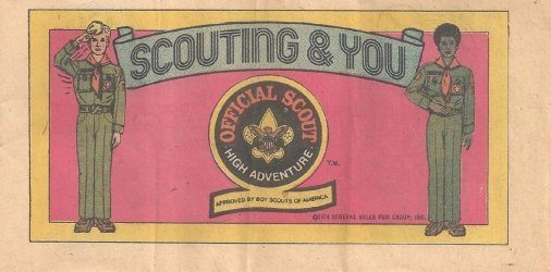 Kenner's Steve Scout: Scouting & You Issue nn