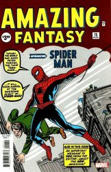 Marvel Comics's Amazing Fantasy Issue # 15facsimile