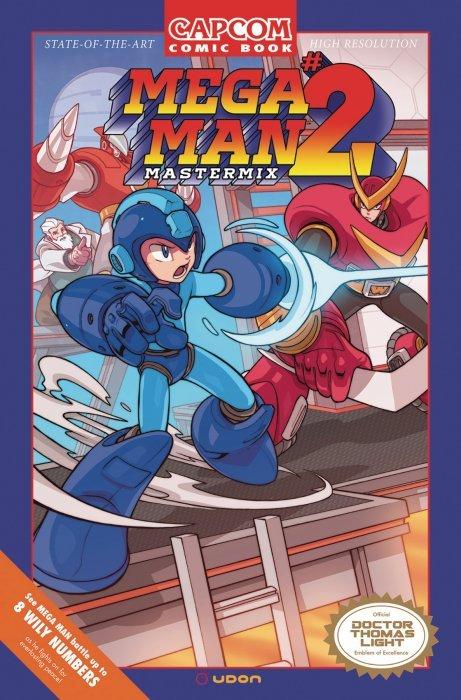mega man mastermix issue 2c udon entertainment