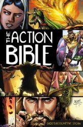 David C Cook's The Action Bible: God's Redemptive Story Hard Cover # 1