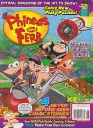 Disney Worldwide Publishing's Phineas and Ferb Issue # 23