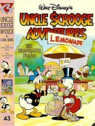 Gladstone's Uncle Scrooge Adventures in Color by Carl Barks Hard Cover # 43