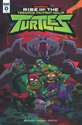 IDW Publishing's Rise of the Teenage Mutant Ninja Turtles Issue # 0ri