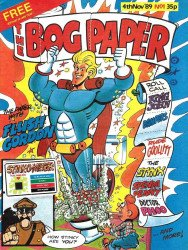 Marvel UK's The Bog Paper Issue # 1
