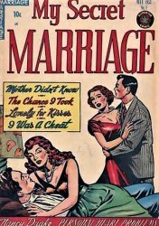 Superior Comics's My Secret Marriage Issue # 1