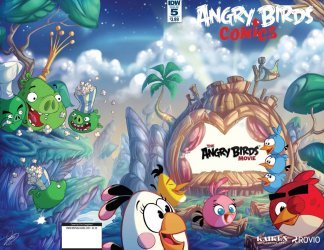 IDW Publishing's Angry Birds Comics Issue # 5