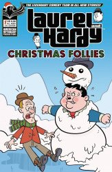 American Mythology's Laurel and Hardy: Christmas Follies Issue # 1c