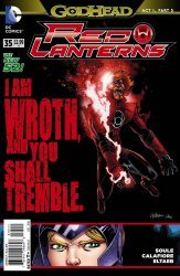 DC Comics's Red Lanterns Issue # 35
