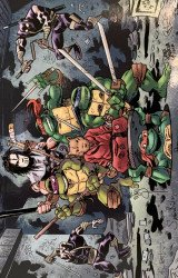 IDW Publishing's Teenage Mutant Ninja Turtles Issue # 100fingerprint-b