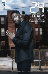 IDW Publishing's 24: Legacy - Rules of Engagement Issue # 3sub