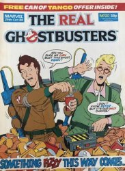 Marvel UK's The Real Ghostbusters Issue # 20