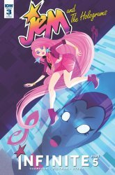 IDW Publishing's Jem and the Holograms: Infinite Issue # 3ri